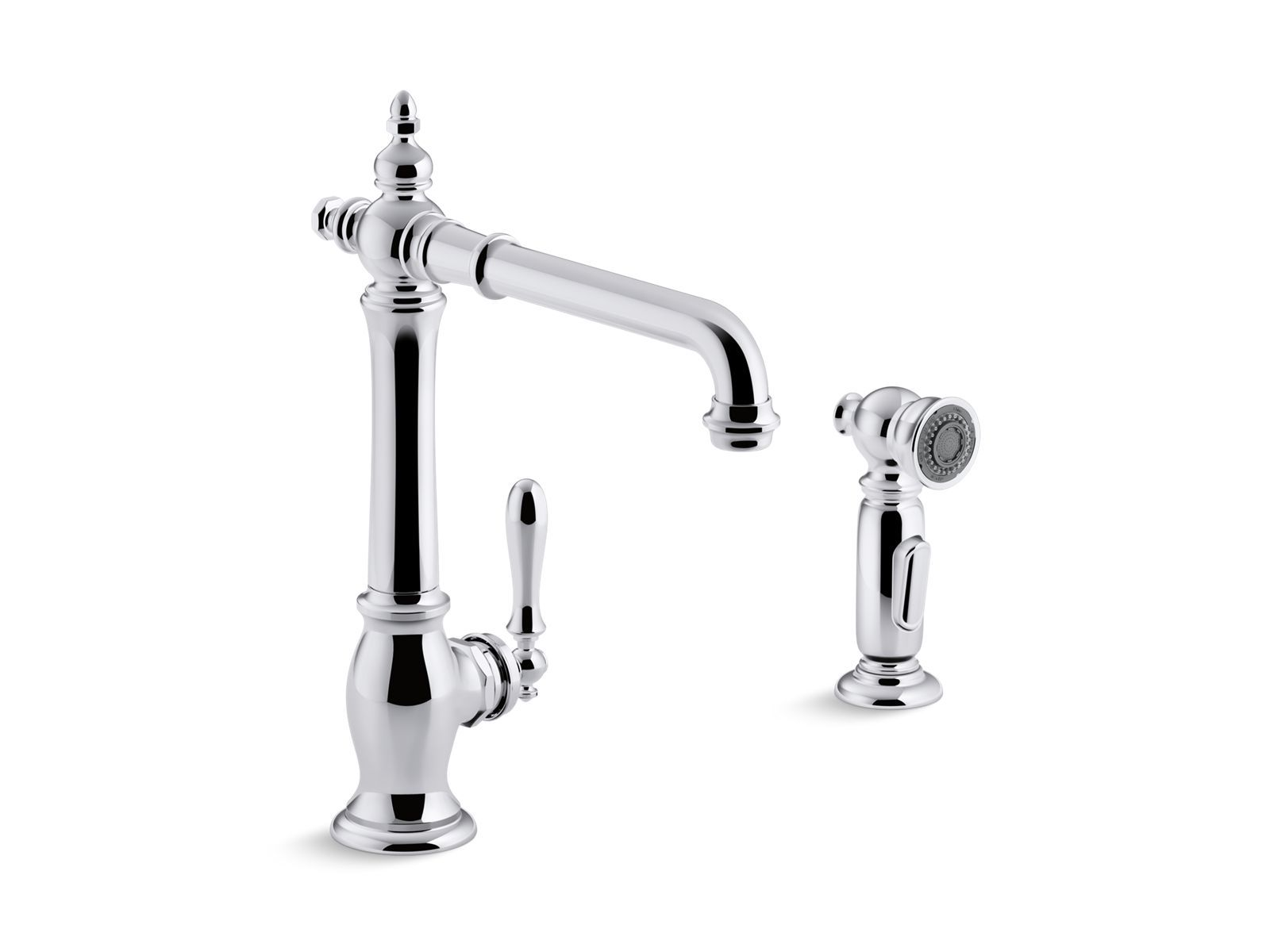 K Artifacts Kitchen Faucet with Sidespray
