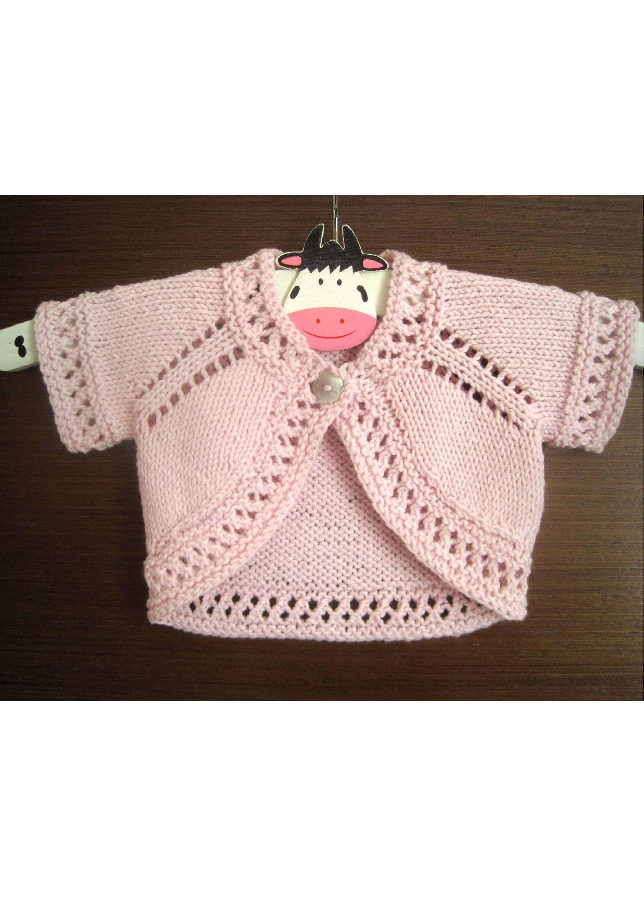 Harriet bolero knitting pattern newborn baby age 6 instant harriet bolero knitting pattern newborn baby age 6 instant download pdf by bankloansurffo Image collections