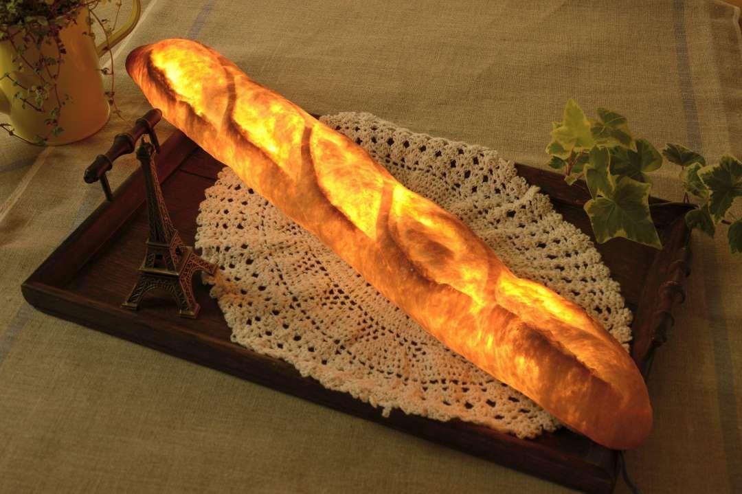 Lamps Made From Real Bread - REX/Pampshade/Yukiko Morita