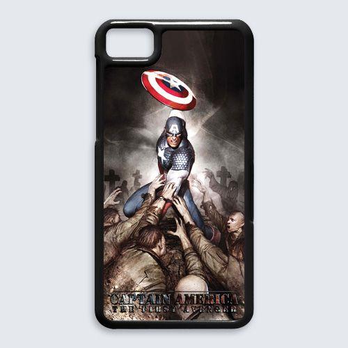 Captain America The First Avengers Blackberry Z10 Case Cover $16.89  #Accessories #Case #CellPhone #BlackBerryZ10 #hardcase #plasticcase #hardcover #Hydra #theavengers #captainamerica #comics #superhero #hydralogo #Loki #Thor #ironman #hawkeye #hulk #MarvelAvengersAlliance #shield #HailHydra