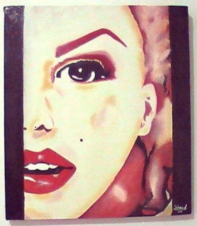 Cuadro al Óleo - Marilyn Monroe by Johana Muñoz