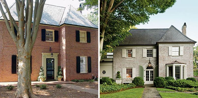 Lime Wash Brick Exterior Exterior Painting Enchanting Secrets Of Segreto This House Was Featured In Southern Living . Design Ideas
