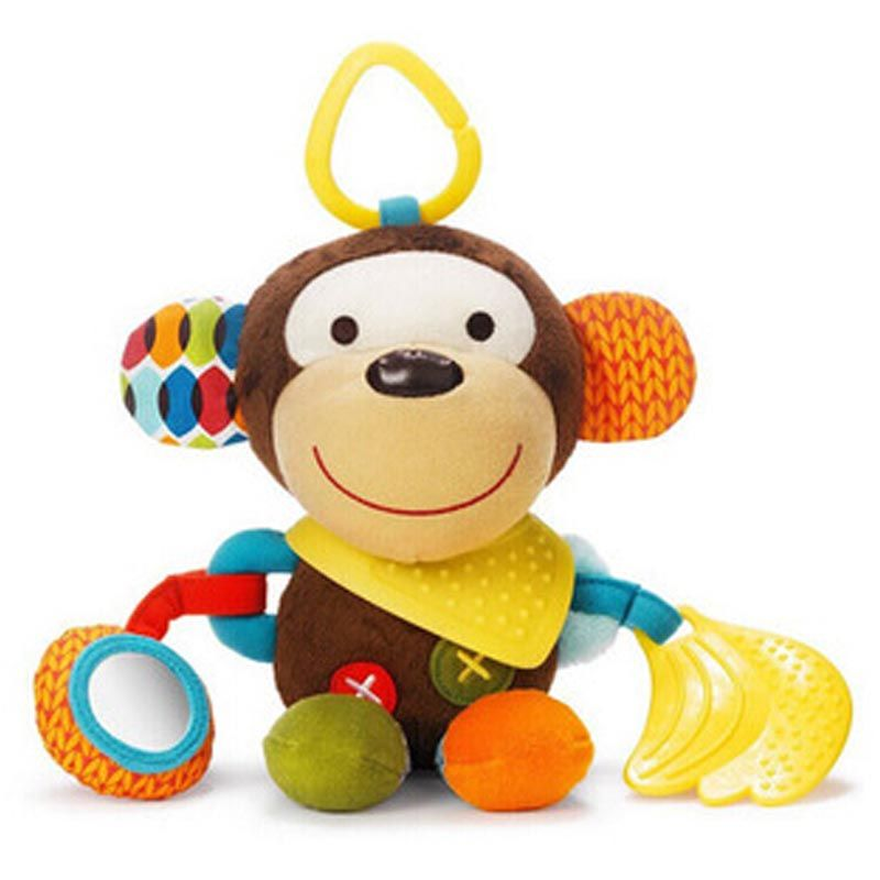 Soft Toys Cartoon : Baby toys cute cartoon toy rattles soft comfort plush