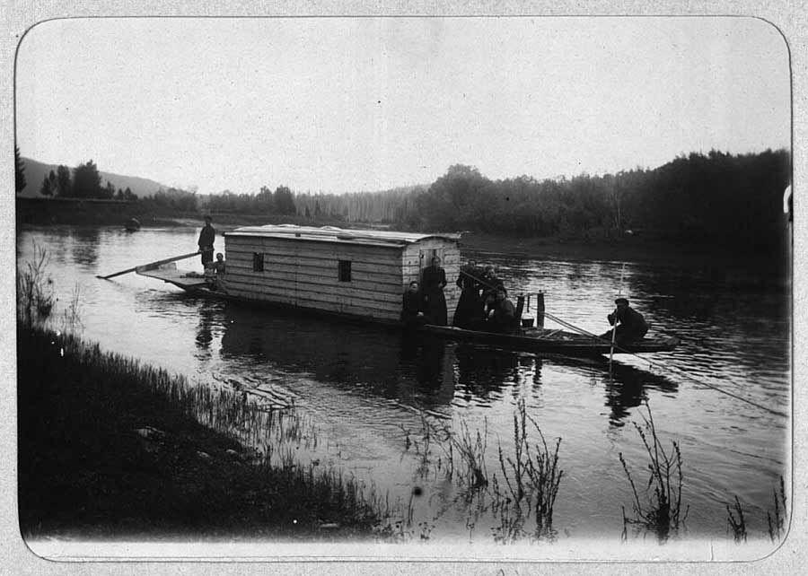 Архивные фото Якутии - Фотографии   Лодка, Фотографии, Мир