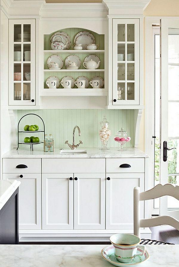 45 super populäre Farben für Küchenschränke | Küchenschränke, Super ...