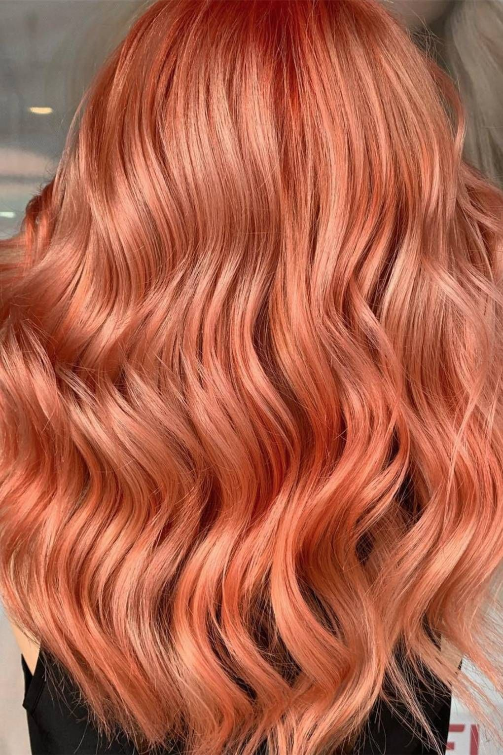 Image result for Terracotta hair might be the hottest colour trend of the summer.
