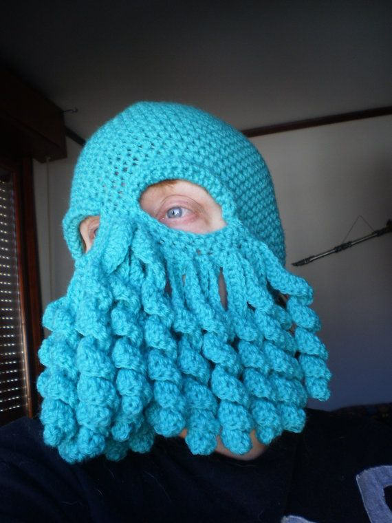 Is that a Cthulhu on your face? Why yes. Yes, it is.