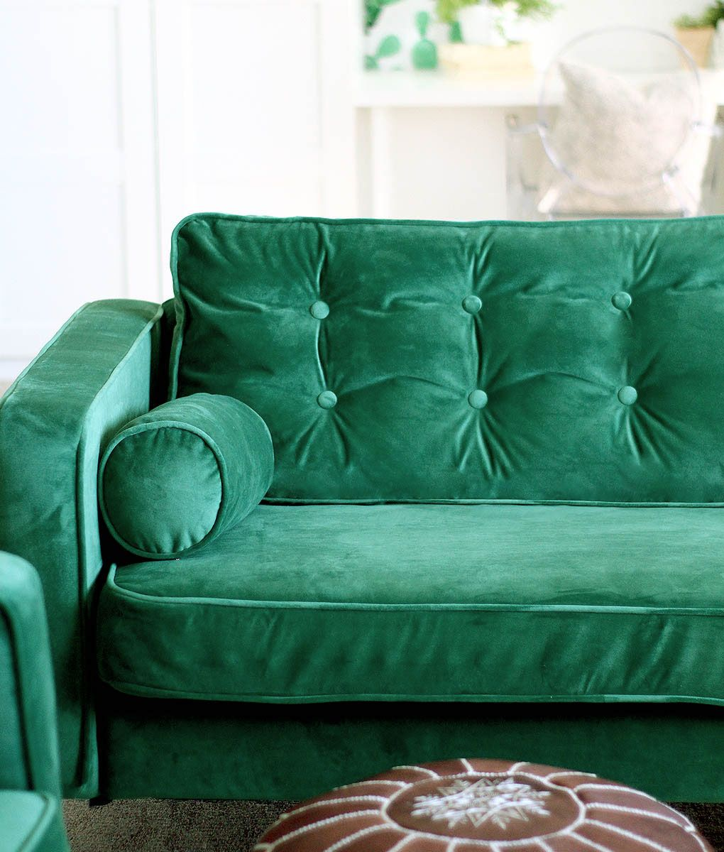 Velvet Sofa Covers – Style over Practicality? We Don't ...