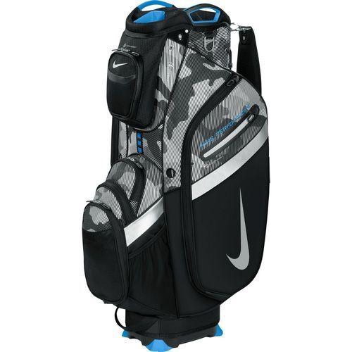 8e059aa4df8a Nike Golf Performance IV Cart Bag - Black Grey Camo Blue