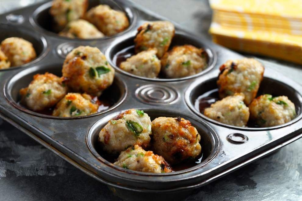 Photo by CanolaInfo  --  Hoisin sauce, also known as Chinese barbecue sauce, adds flavor to Hoisin-Whiskey Glazed Meatballs and helps to thicken the Asian-inspired glaze.
