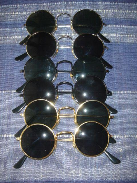 Lot   48 x Sunglasses John Lennon Style 70s Style Glasses Seventies ... e96feea4bc50
