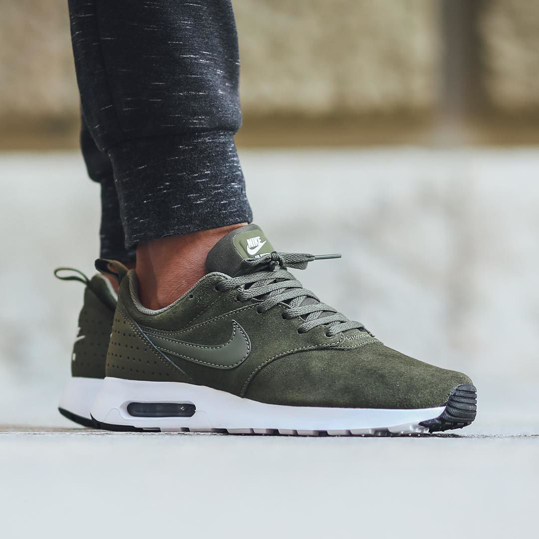 "e2f5a21a4c3 Titolo Sneaker Boutique on Instagram  ""Nike Air Max Tavas Leather - Cargo  Khaki Cargo Khaki available now in-store and online  titoloshop Berne"