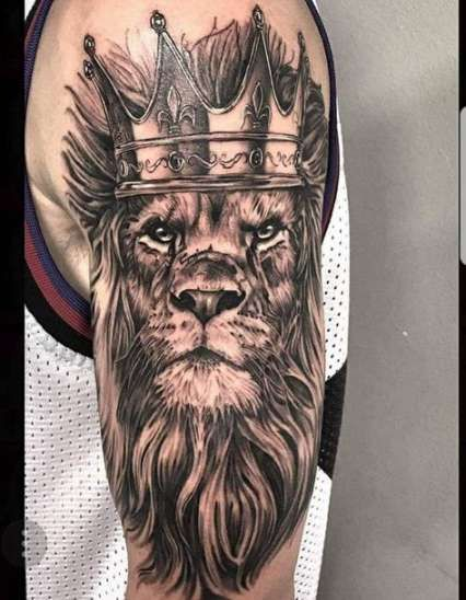 Animal Head Tattoo : animal, tattoo, Trendy, Tattoo, Animal, Inspiration, Tattoos,