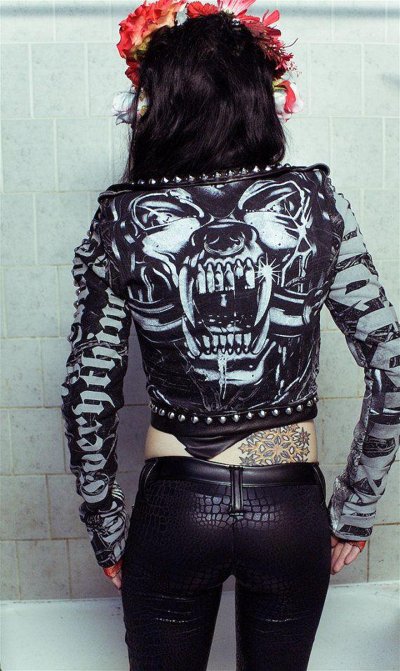 1b5f59100e86d TOXIC VISION Motorhead studded motorcycle jacket