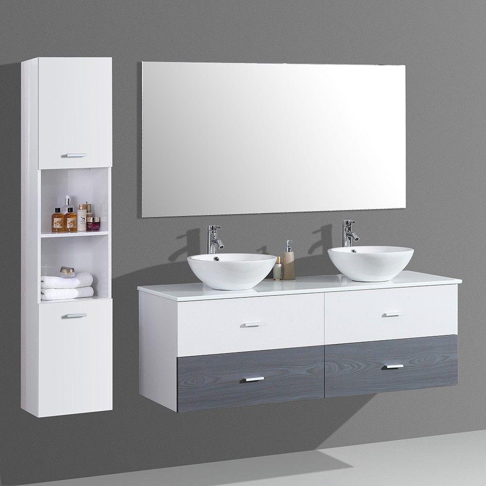 Meuble Pour Vasque Avec Colonne dès 859.00€, meuble salle de bain avec colonne de rangement