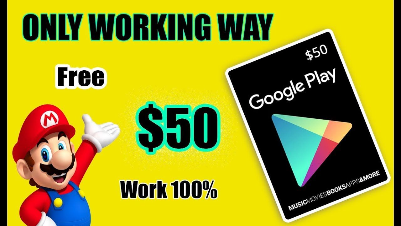 How To Get A Redeem Code For Google Play Hot Way Get 100
