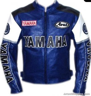 Veste de moto yamaha femme