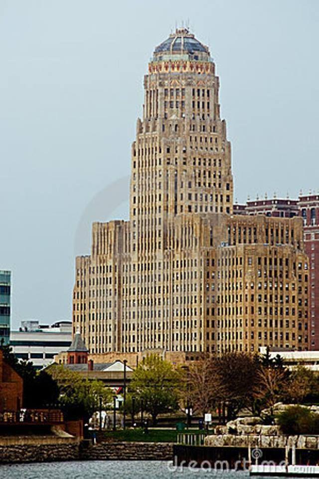 Area Code De Usa%0A Edificio del Ayuntamiento de Buffalo  Nueva York  USA  Art deco