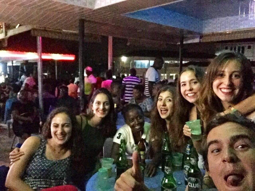It was such a great time out last night. Fun! Fun!! Fun!!! #uvolunteer #ghvn #ghana #mobileadventure #travelghana #letsgosomewhere #weekend #letsvolunteer #signupnow #joinus