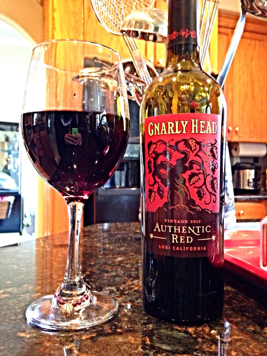 Gnarly Head Authentic Red 2012 Red Wine Wine Cellar Gnarly