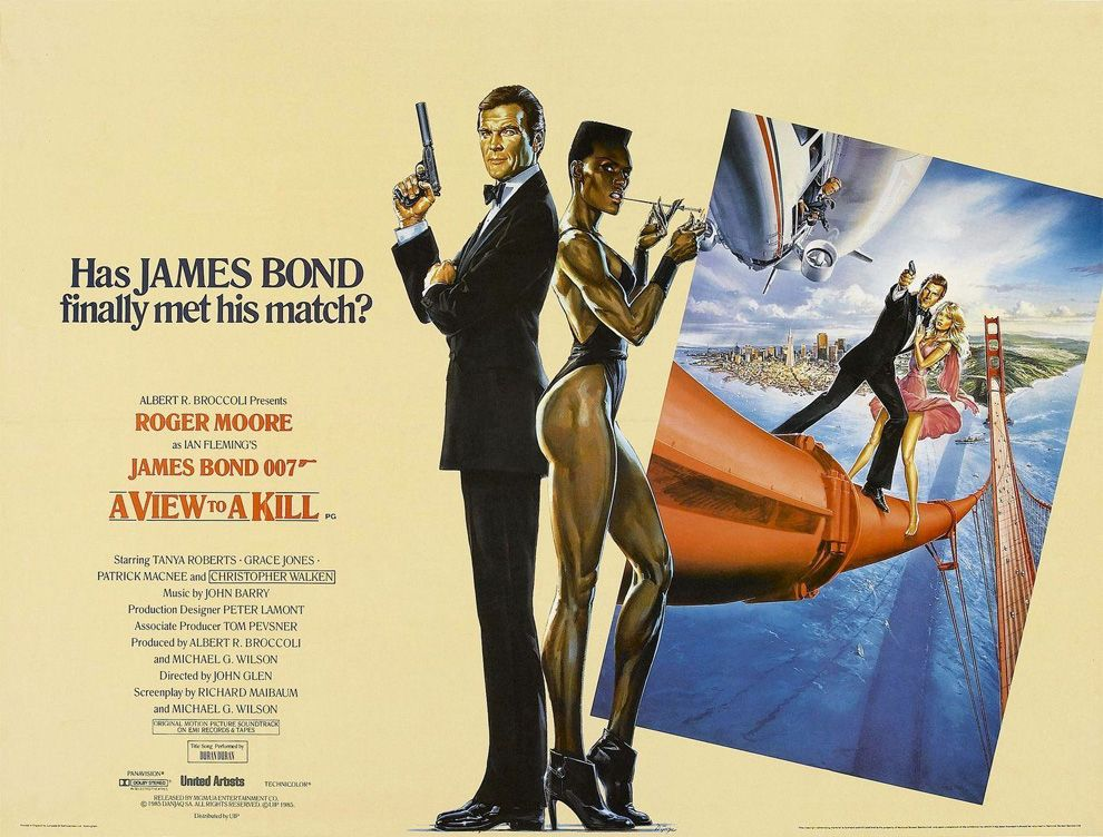 50 Years Of James Bond In 24 Posters James Bond Movie Posters