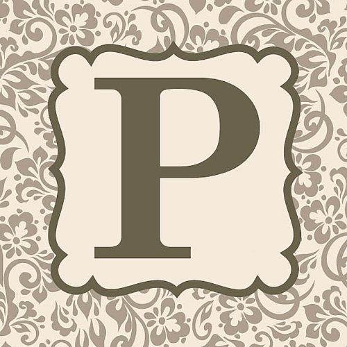 Monogram  - P