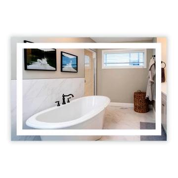 Bathroom Vanity Mirror Led, How Big Of A Mirror For 48 Inch Vanity