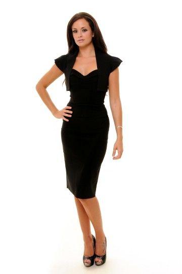 Black Vintage Shrug  http://bit.ly/JsqapY  Price:£45.00