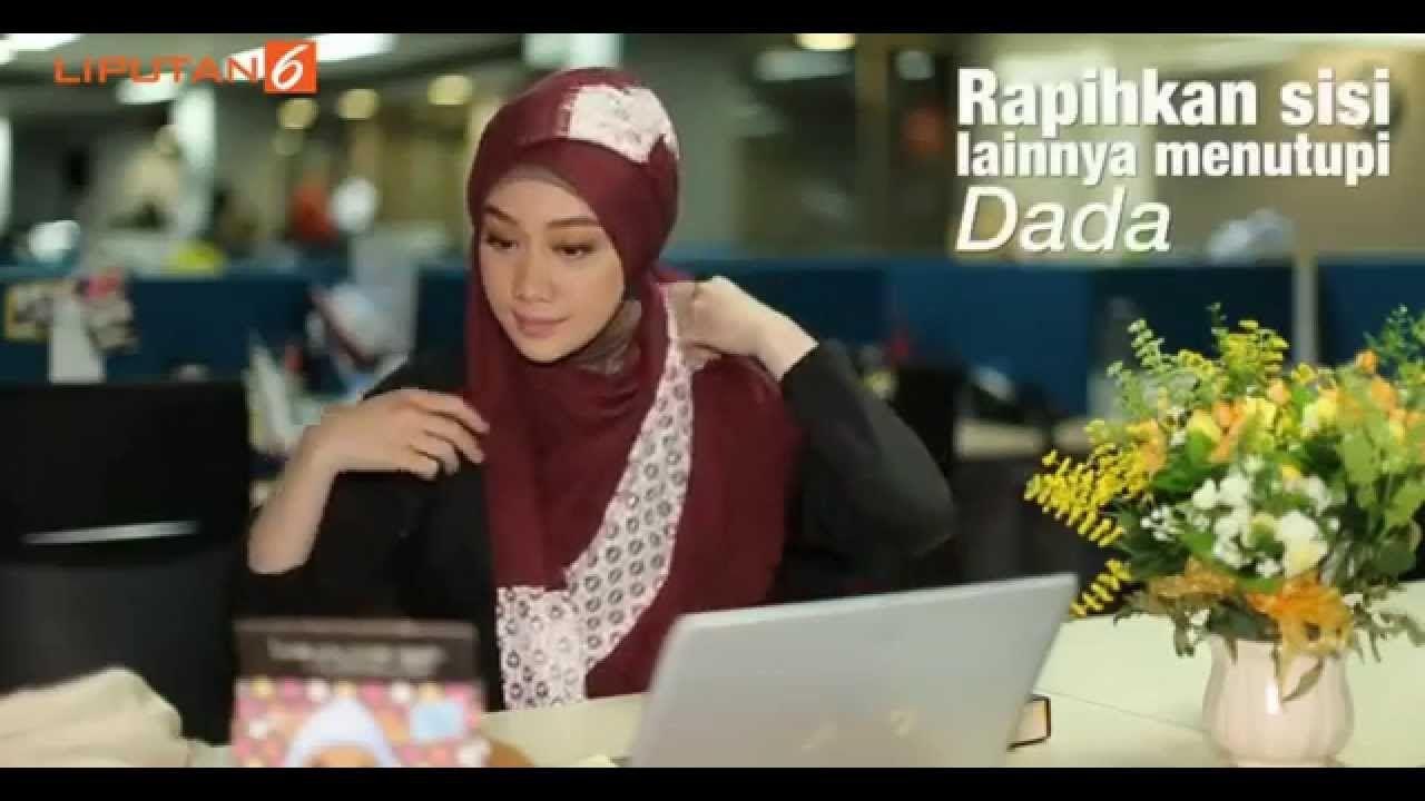 Tutorial Hijab Pashmina Untuk Ke Kantor Style 1 By Vina Muliana