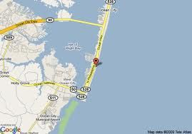 Map Of Ocean City MD My Journeys Pinterest Ocean City Md - Ocean city md map