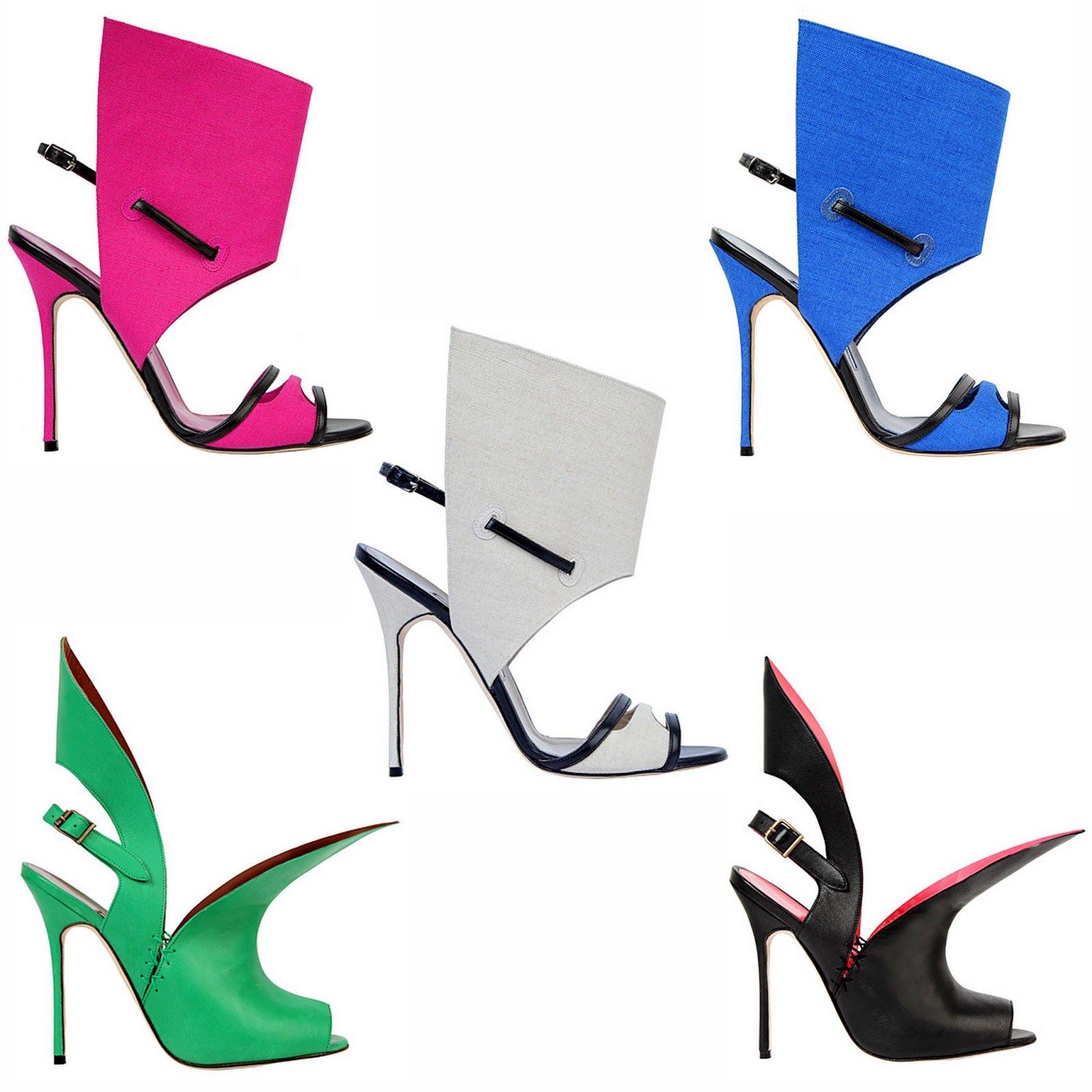 Manolo Blahnik Summer Shoes 2013 #Manolos
