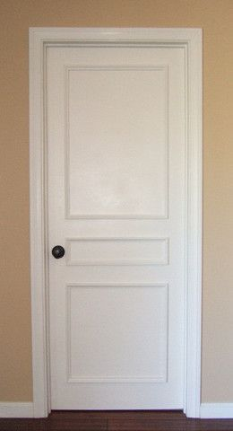 Three Panel Door Moulding Kit~ Get the custom, high-end look in your home – Luxe Architectural