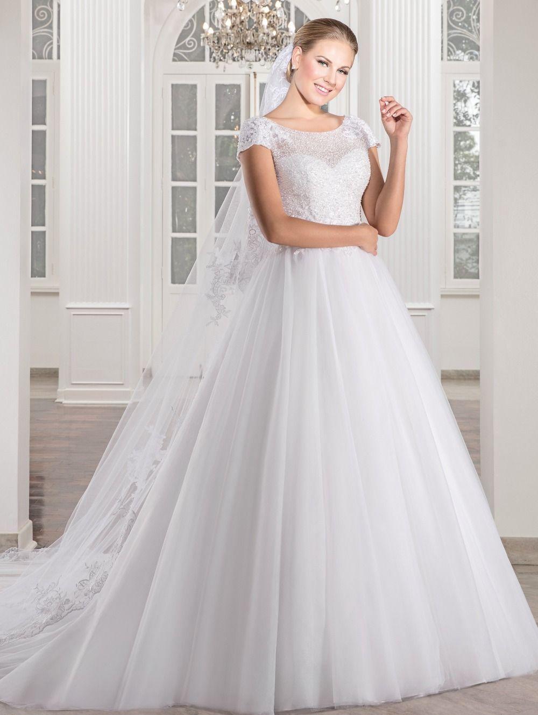 Click To Buy Vestido De Noiva Chapel Train Ball Gown Wedding Dresses