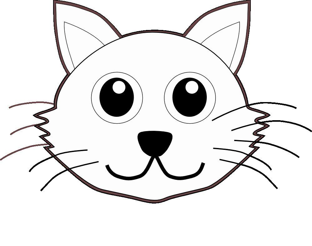 Black Cat Coloring Page Unique Cat 1 Face Cartoon Black White Line Coloring Sheet Cat Face Drawing Cat Coloring Page Cat Coloring