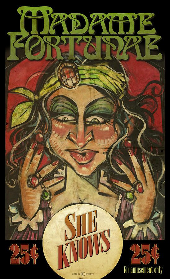 fortune teller gypsy poster - Google Search | Past ...