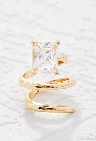 Coiled Faux Gemstone Ring | Forever 21 #accessorize