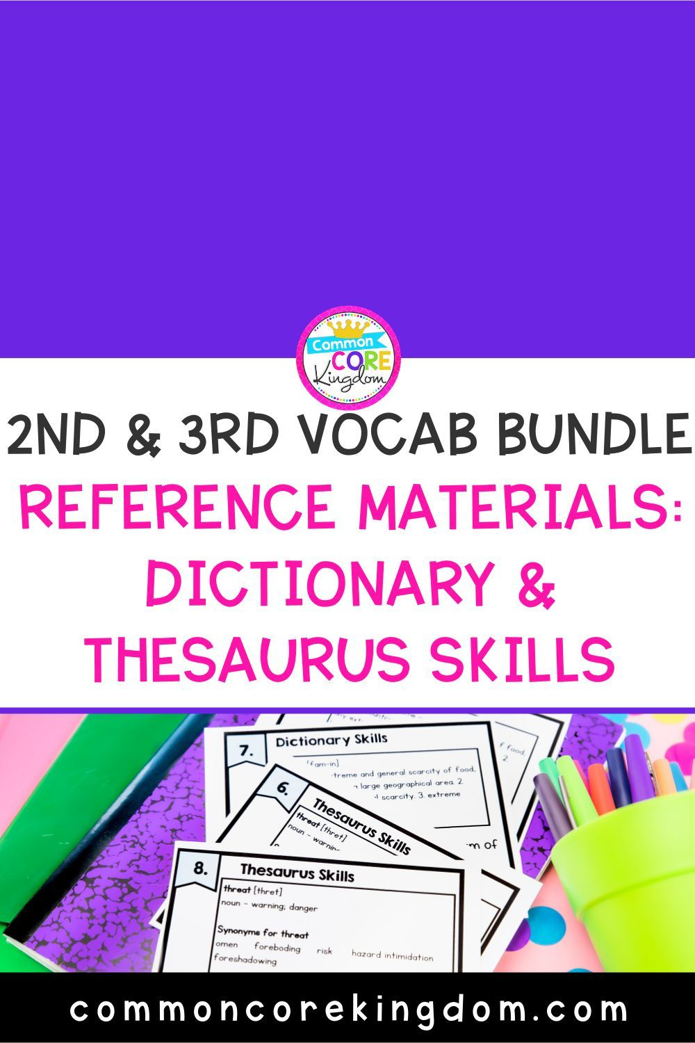 Reference Materials Dictionary Skills And Thesaurus Skills Dictionary Skills Student Dictionary Template Help Teaching