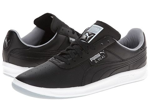 b359fe27836 PUMA G. Vilas L2 Black Quarry Puma Silver - Zappos.com Free Shipping BOTH  Ways