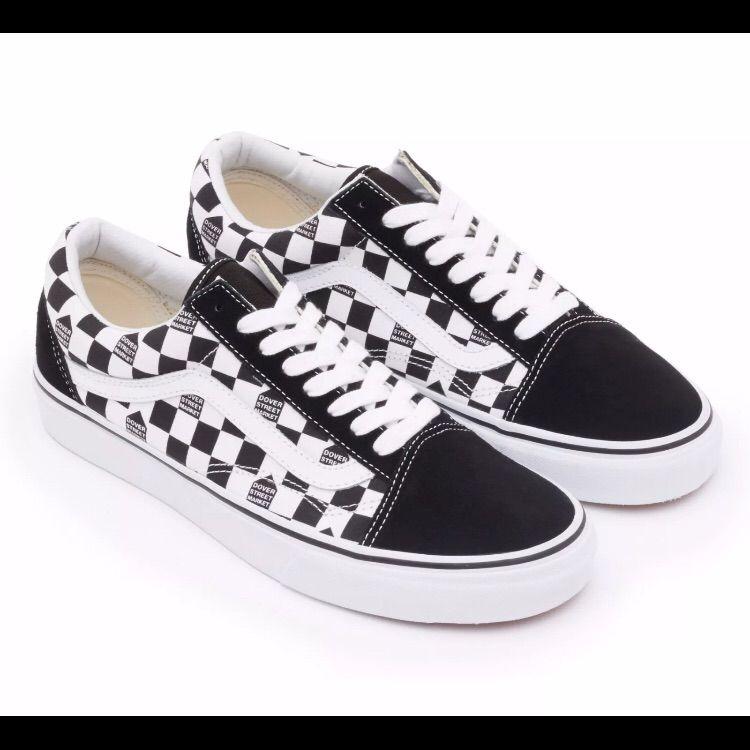 doverstreetmarket Shoes | Vans X Dsm Old Skool Checker