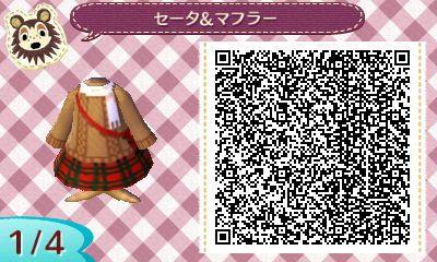 Acnl summer dress qr codes link