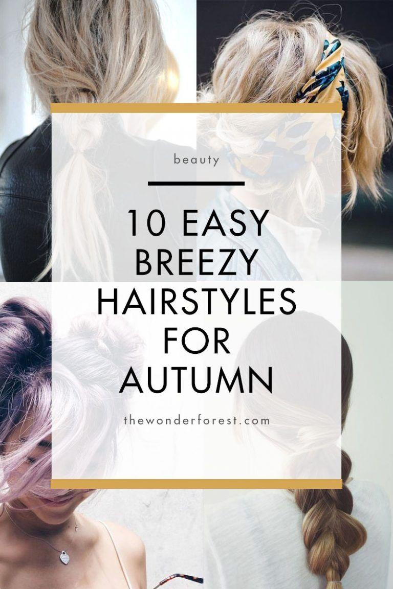 easy hairstyles for autumn fall pinterest hair styles easy