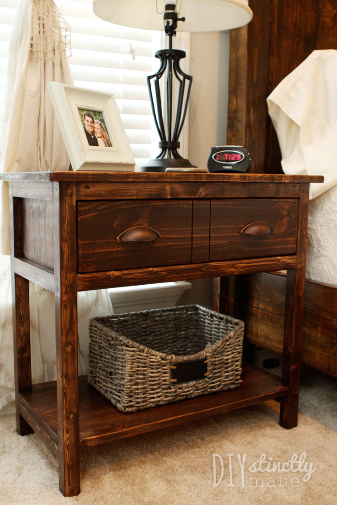 Best Diy Farmhouse Bedside Table 2 Tables For Less Than 90 400 x 300