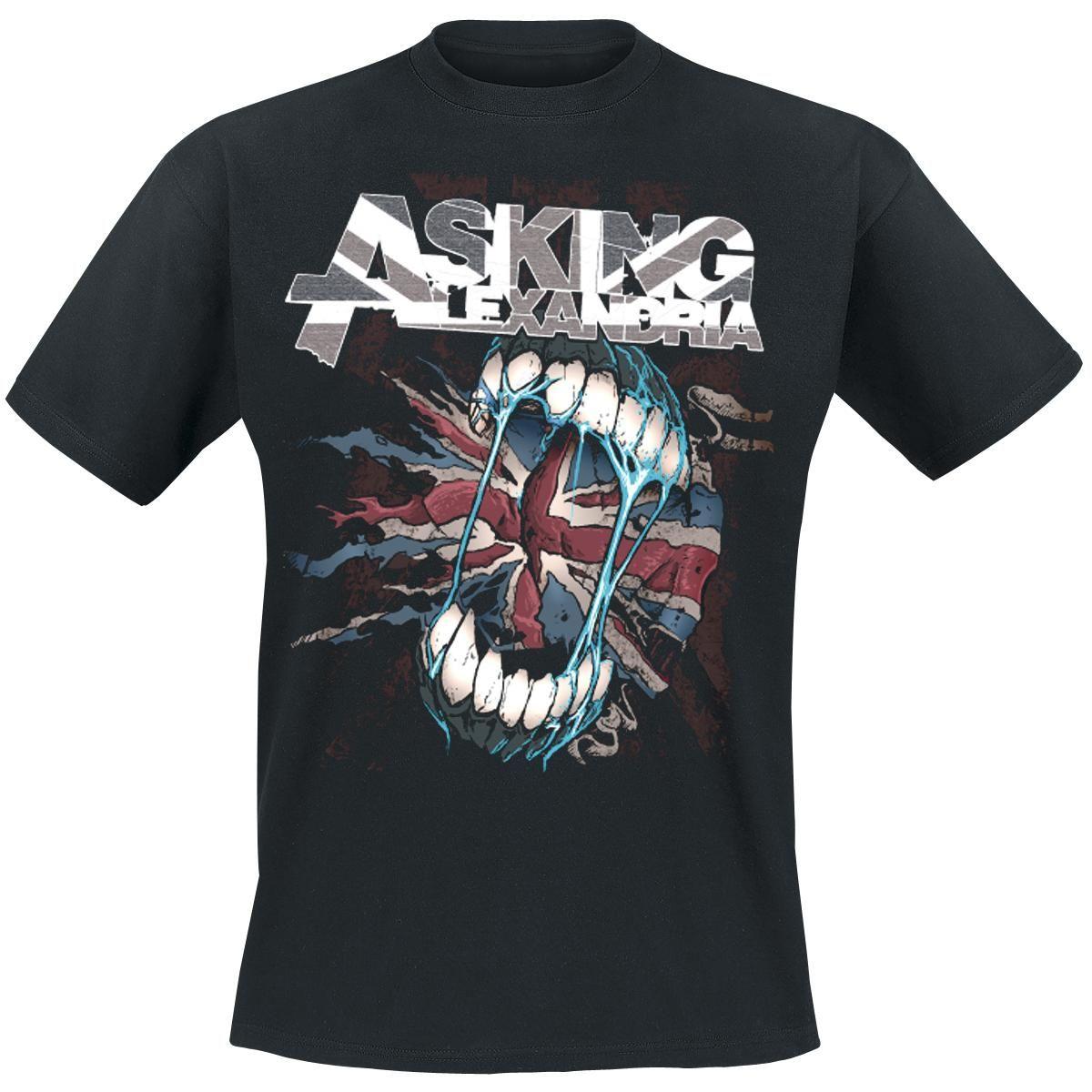 Asking Alexandria T-Shirt Flag Eater