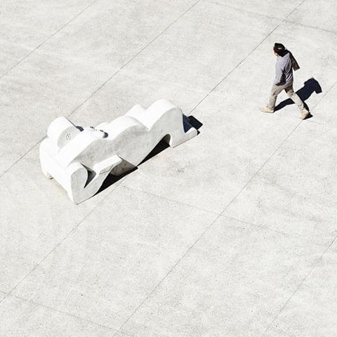 Ian Potter Sculpture Forecourt at MUMA, 2011 image @derek_swalwell  Sculpture: Sanné Mestrom: Weeping Women KTA with Fiona Harrison and Simon Ellis. #muma #monashuniversity #museum #landscape #architecture #gallery #mumamonash