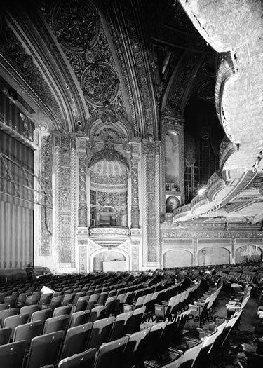 Granada Theatre Theater North Sheridan Road Chicago Historic Theater Theatrical Scenery Theatre
