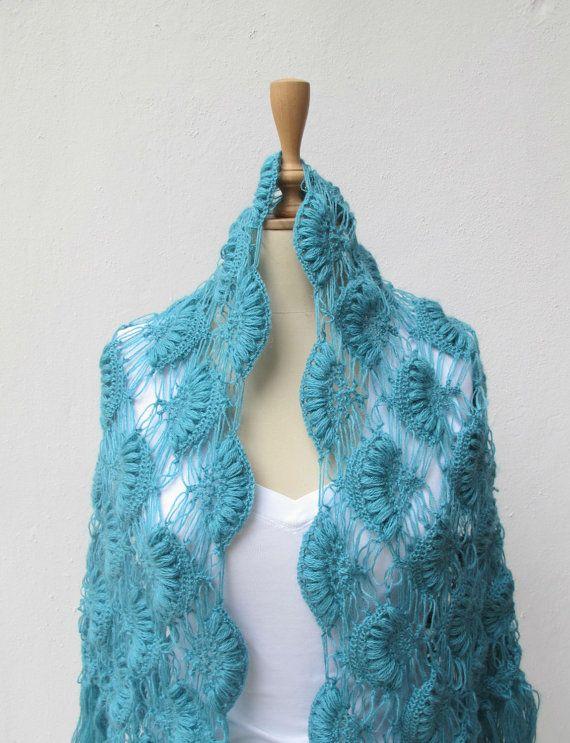 crochet shawls | Crochet Ideas | Pinterest | Tücher, Schals und Tuch ...