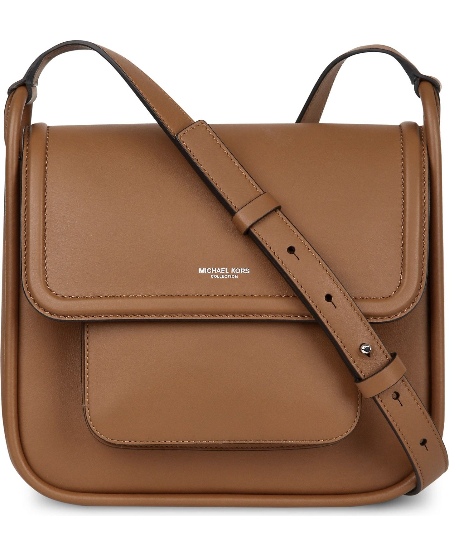 3d2f3273d7f MICHAEL KORS COLLECTION - Tenby leather cross-body bag