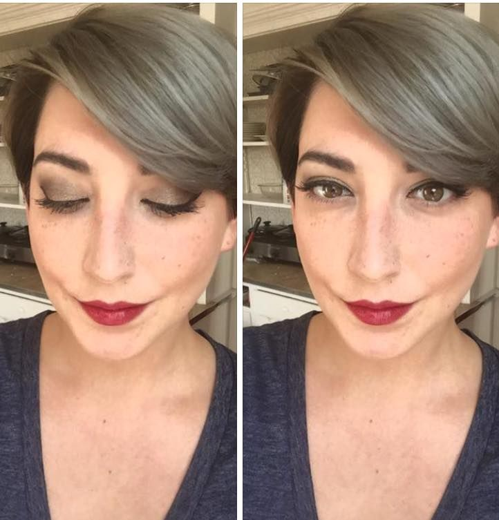 Brielyn's look: * Palette one: -  Zealous - Brassy - Sincere Velour liquid foundation * Dark brow pencil * Sultry lipstain * Bronzer in the shade 'malibu' * Liquid liner in 'perfect' * 3D lashes.   #beauty #makeup #eyeshadow #mascara #lipstain