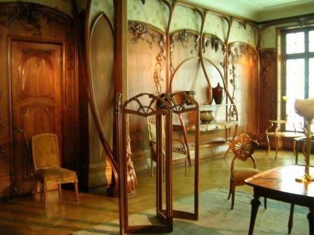 Hector guimard art nouveau inspired pinterest - Jugendstil mobel merkmale ...