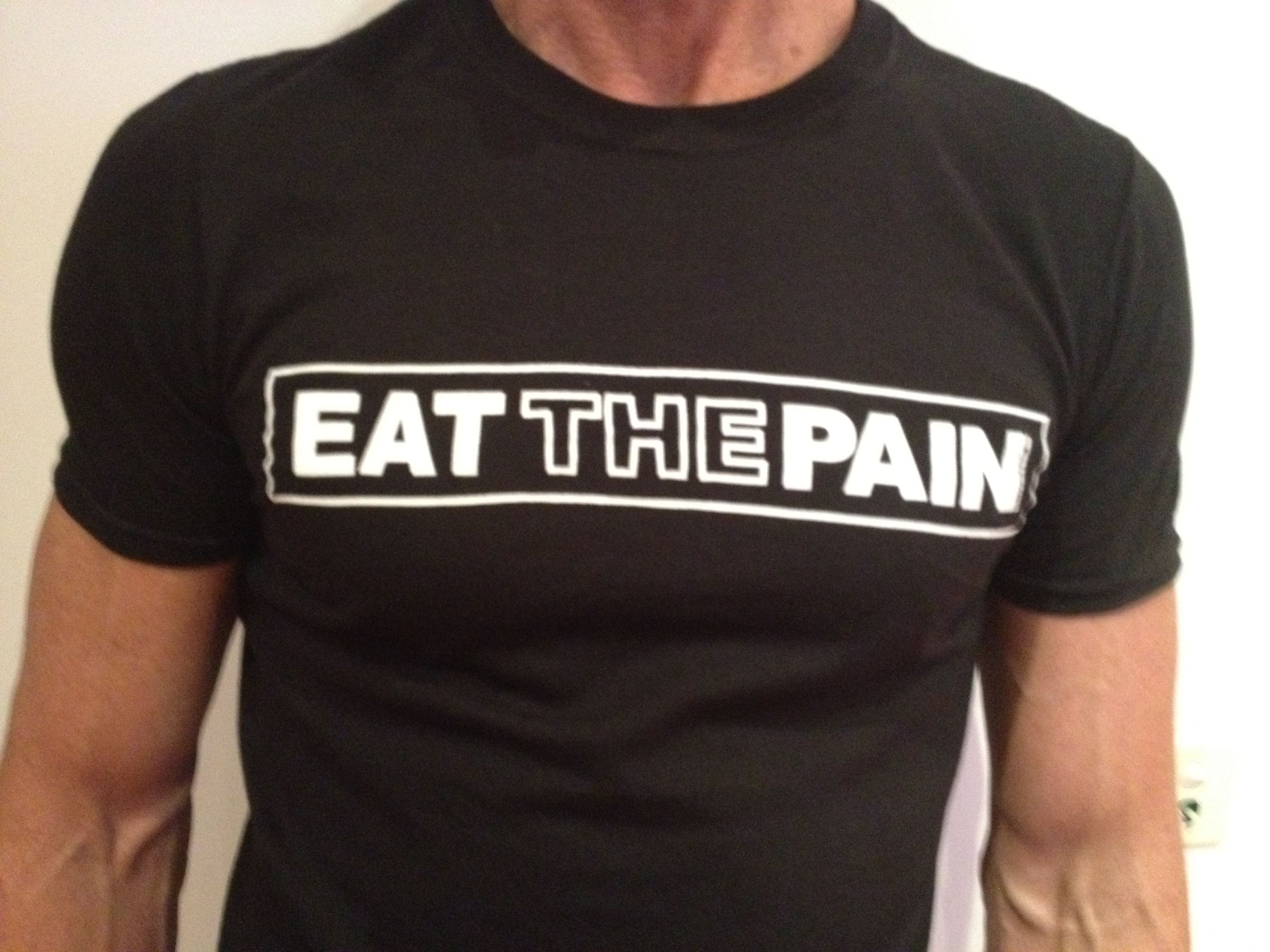 Design t shirt melbourne - My Eat The Pain T Shirt Design Especially For My Husband For Melbourne Ironman 2012